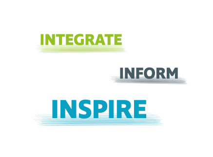 Integrated inform and inspire for sports and nutrition